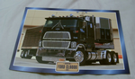 Ford CL9000 1978 truck framed picture
